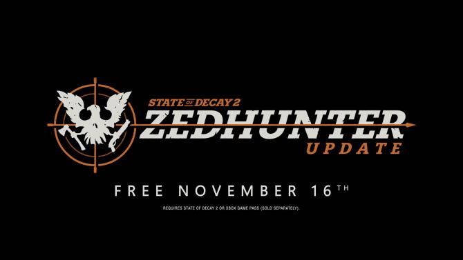 State of Decay 2 presenta Zedhunter, su nueva expansión, y contenidos para 2019 1