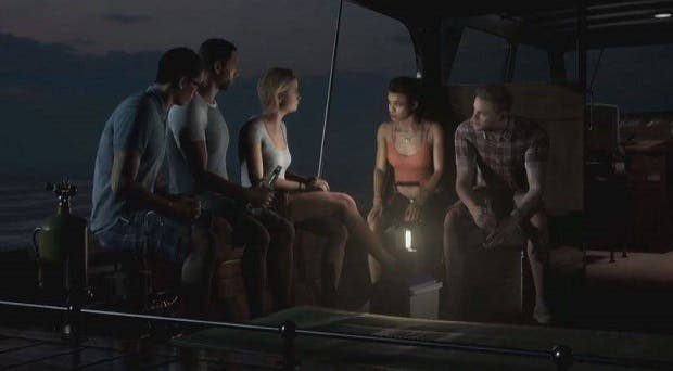 Nuevo Gameplay de The Dark Pictures: Man of Medan 1