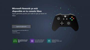Accede a Microsoft Rewards desde tu Xbox One con la nueva aplicación 15