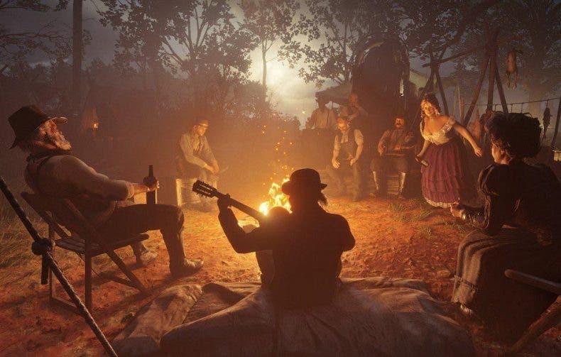 Red Dead Redemption 2 tiene un bug que hace desaparecer a los personajes del campamento 1