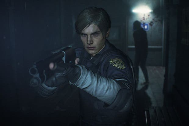 De resaca y abandonado por su novia, así era el Leon de Resident Evil 2 original 1