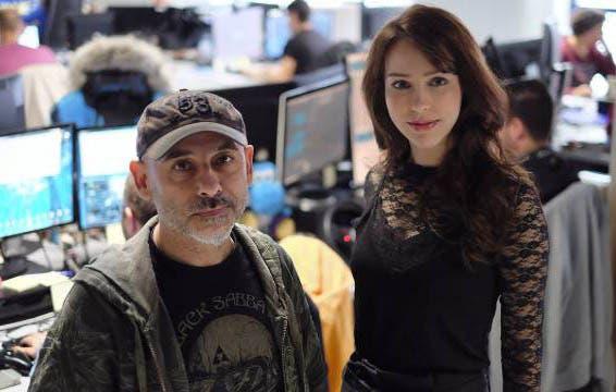 Stefanie Joosten ficha por Spacelords, del estudio español Mercury Steam 1
