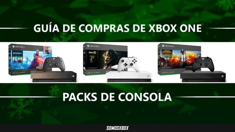 Guía de compras de Xbox One: packs de Xbox One X y Xbox One S 1