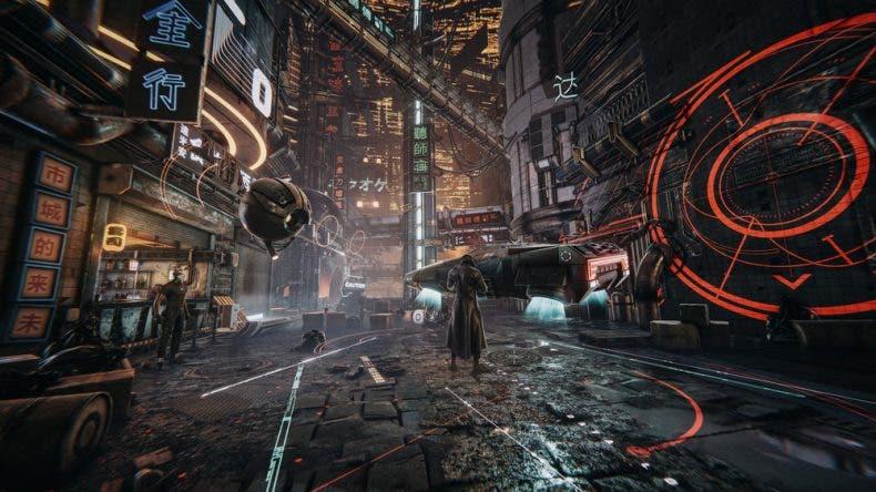 Así luciría un juego cyberpunk con Unity Engine 1