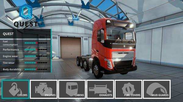 Descubre Truck Driver, el simulador de camiones que llegará a Xbox One 2