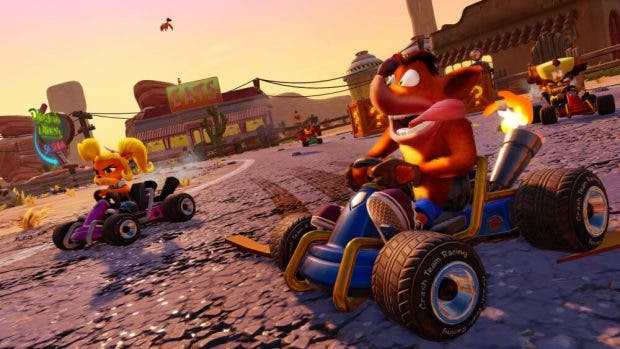Crash Team Racing Nitro-Fueled recibe el Gran Premio de Gasmoxia gratis 7