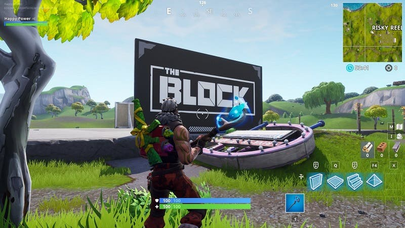 Creative y The Block son las novedades de Fortnite 2