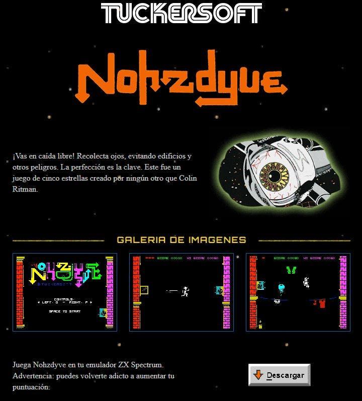 Nohzdyve, el juego de Black Mirror: Bandersnatch, es real y puedes jugarlo en tu emulador 2