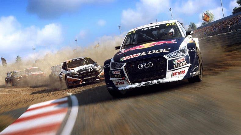 Así es el modo rallycross en DIRT Rally 2.0 1