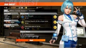 Dead or Alive 6 confirma la presencia de Raidou, nuevos escenarios y modos 3