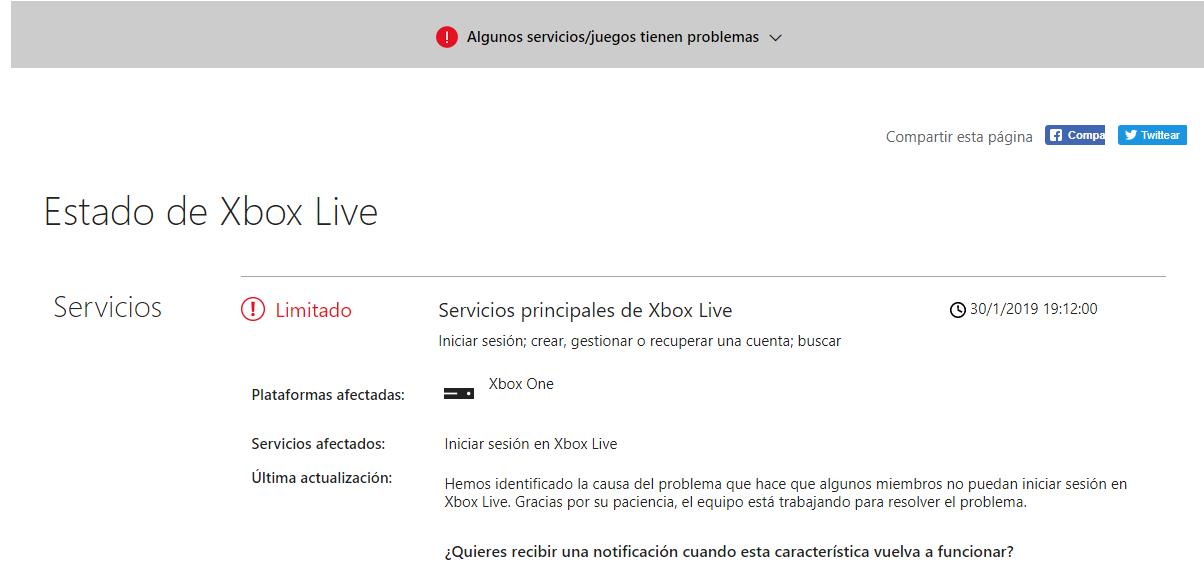 [SOLUCIONADO] Un problema en Xbox Live provoca la aparición de la pantalla en negro 2