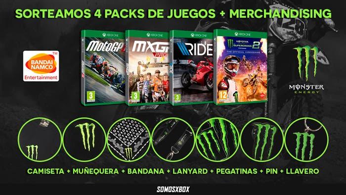 Sorteamos 4 packs de Ride 3, MXGP Pro, Monster Energy Super Supercross 2 y Moto GP 18, más merchandising 1
