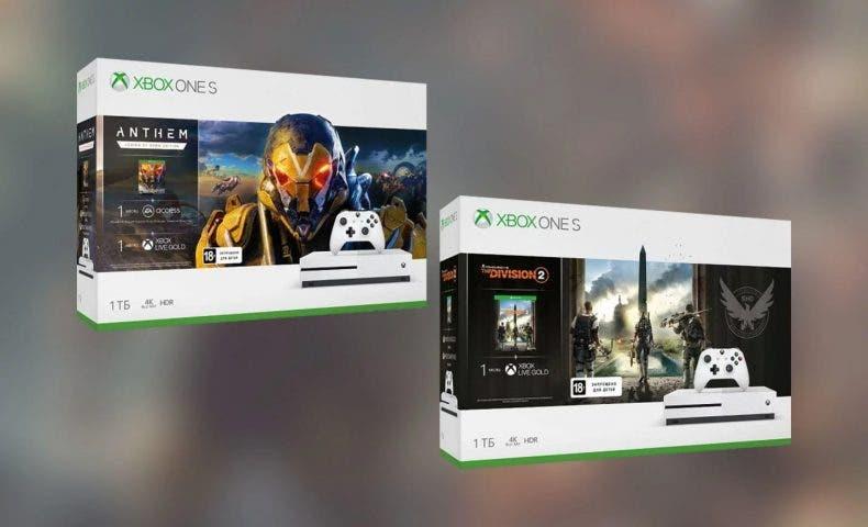 Filtrados dos nuevos bundles de Xbox One S con Anthem y The Division 2 1