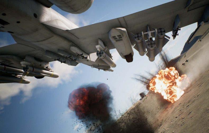 Este es el rendimiento de Ace Combat 7 en Xbox One y Xbox One X 1