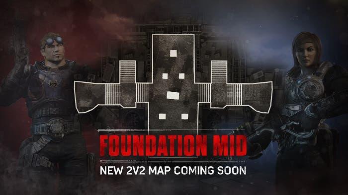 Nuevo mapa para el modo 2vs2 de Gears of War 4 1