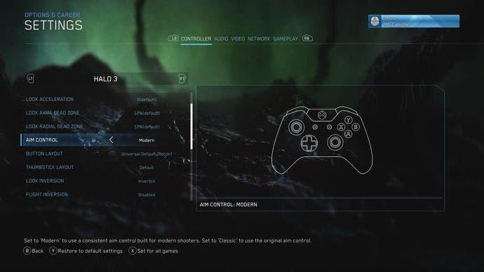 """Halo: Master Chief Collection incluye ahora la opción """"puntería moderna"""" 2"""