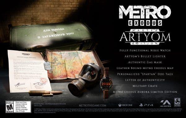 Metro Exodus presenta la Artyom Edition, limitada a diez unidades 2