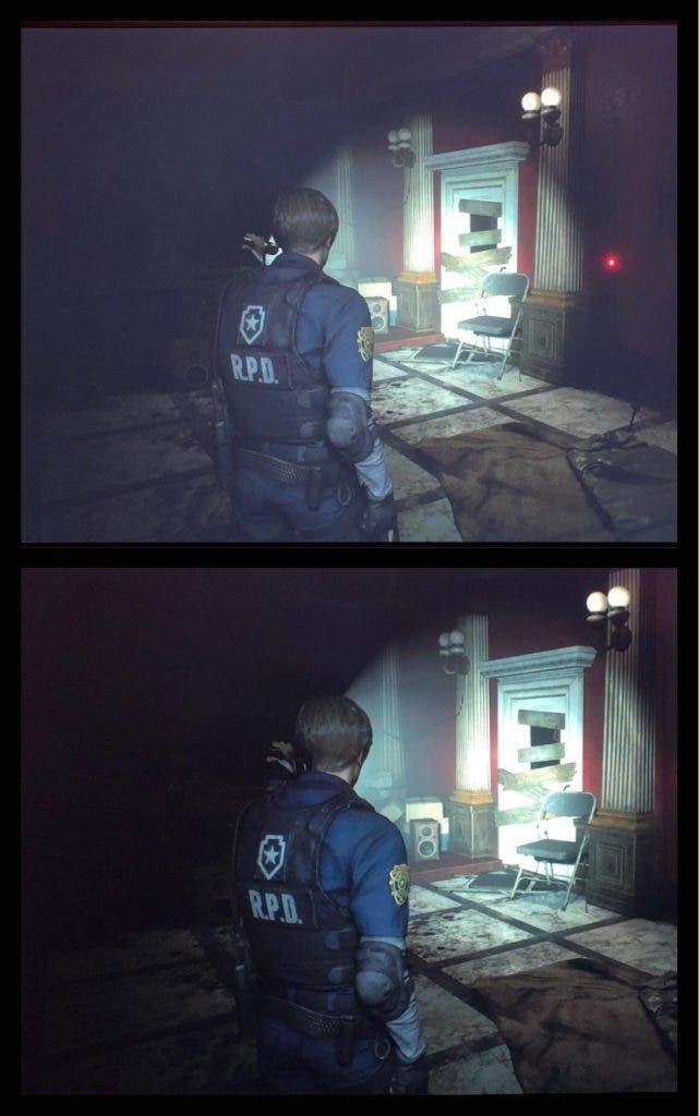 La demo de Resident Evil 2 estropea la imagen con un falso HDR 2