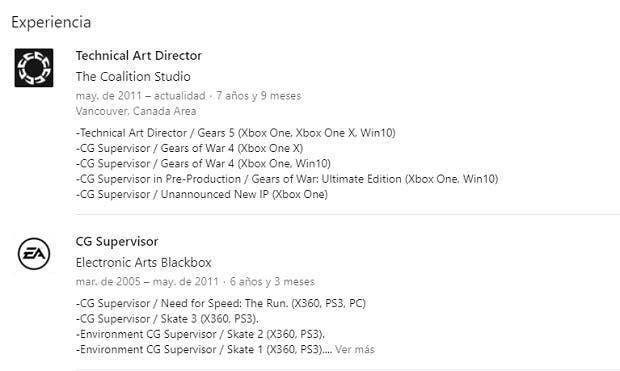 The Coalition trabaja en una nueva IP para Xbox One, junto a Gears of War 5 2