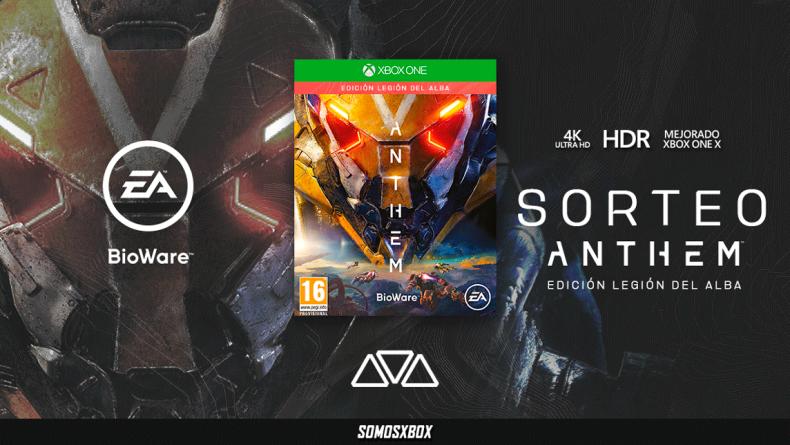 Sorteamos una edición especial de Anthem para Xbox One 1
