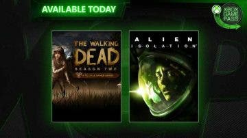 The Walking Dead Season 2 y Alien Isolation disponibles en Xbox Game Pass 3