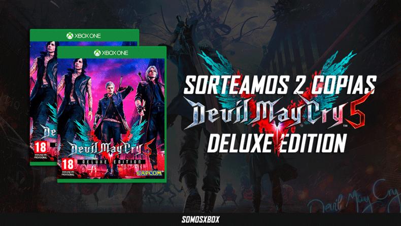Sorteamos dos 'Deluxe Edition' de Devil May Cry 5 para Xbox One 1
