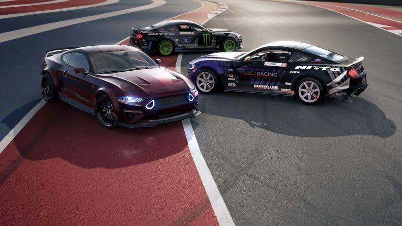 Forza Motorport 7 añade gratis un pack con varios Ford Mustang RTR 1