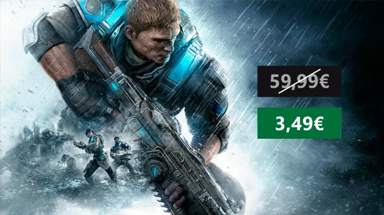 Aprovecha un enorme descuento en la edición digital de Gears of War 4 1