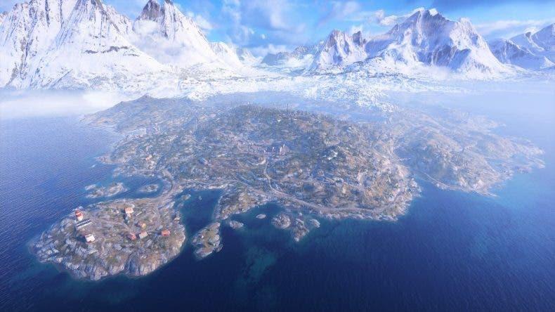 Cómo de grande es el mapa de Battlefield V Firestorm comparado con PUBG y Fortnite 1
