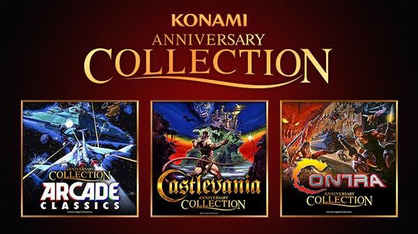 CONFIRMADO: Konami lanzará tres colecciones de clásicos que jugaste en tu infancia