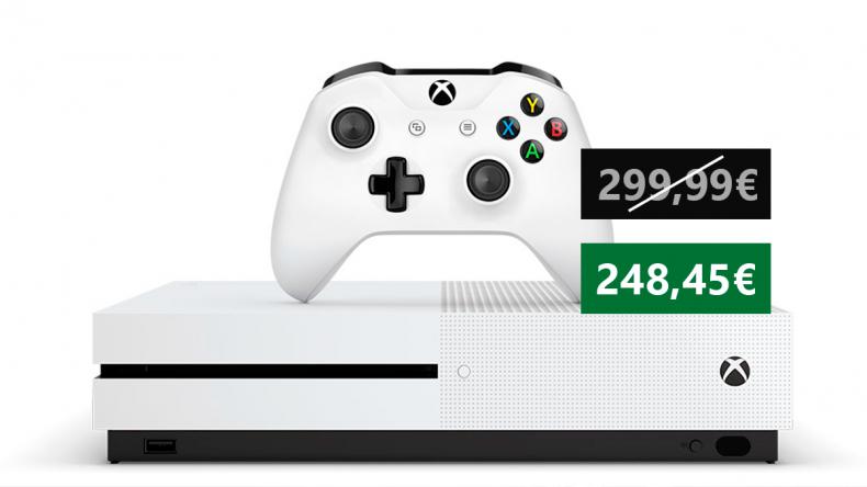 Oferta en pack de Xbox One S exclusivo de Amazon con 2 mandos y 3 meses de Game Pass 1