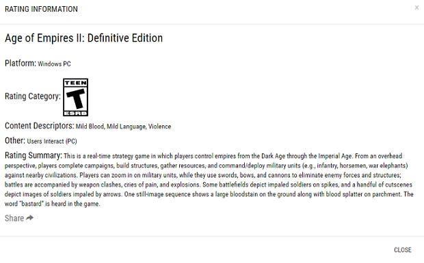 Microsoft lista Age of Empires II: Definitive Edition para Windows 2