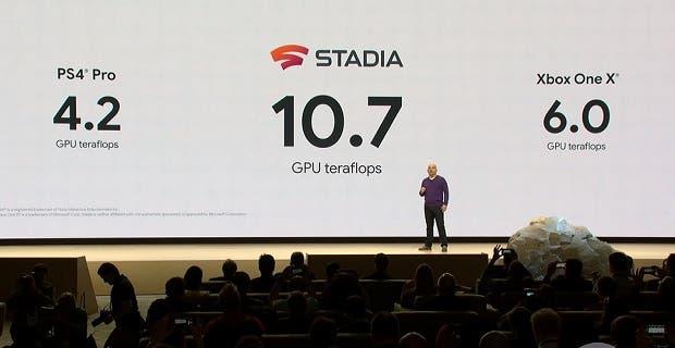 Google Stadia superará a Xbox One X y PS4 Pro, pero se olvida de Xbox Scarlett y PS5 1