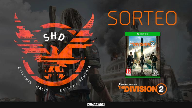 Sorteamos un The Division 2 para Xbox One 1