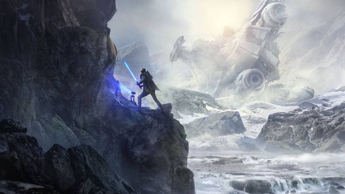 Jedi: Fallan Order art