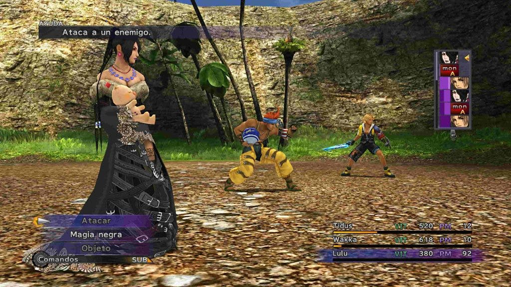 Final Fantasy X y X-2 HD Remaster 1