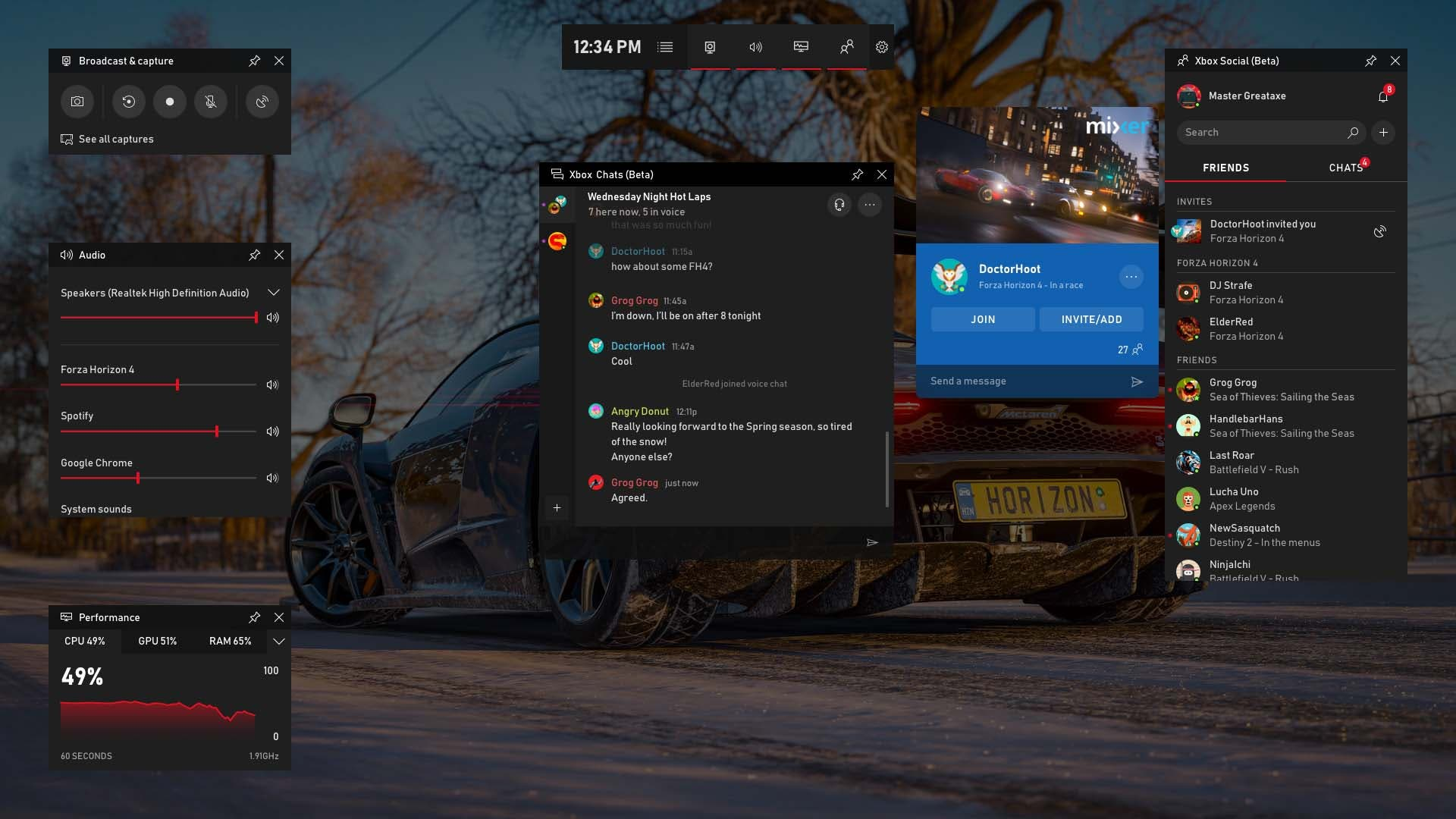 La Windows Game Bar se actualiza con muchas funciones interesantes, como Spotify o crear memes 4
