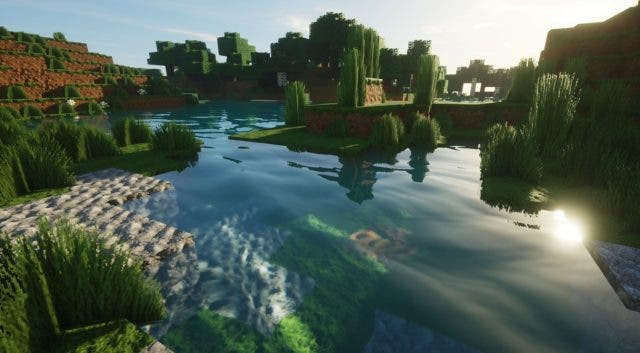 Minecraft con Ray Tracing en la beta de Windows 10