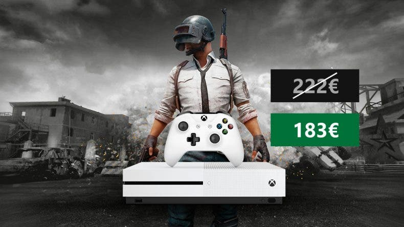 Atento a esta espectacular oferta de Xbox One S 1