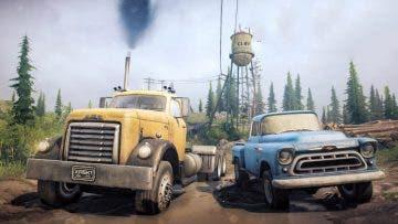Spintires: Mudrunner confirma un DLC gratis para llegar este mes con un nuevo mapa y vehículos 3