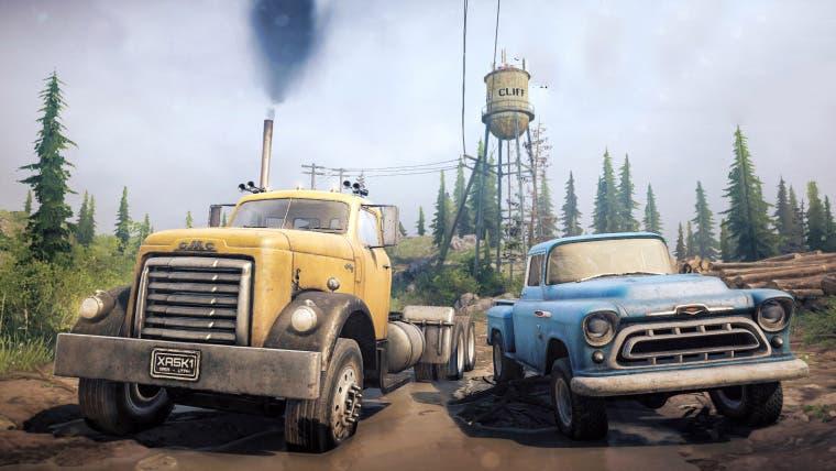 Spintires: Mudrunner confirma un DLC gratis para llegar este mes con un nuevo mapa y vehículos 1