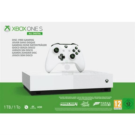 Hazte con una Xbox One S All-Digital Edition por 180€ 2