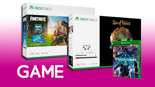 Consigue una Xbox One S con Crackdown 3 desde un precio muy reducido en GAME 1