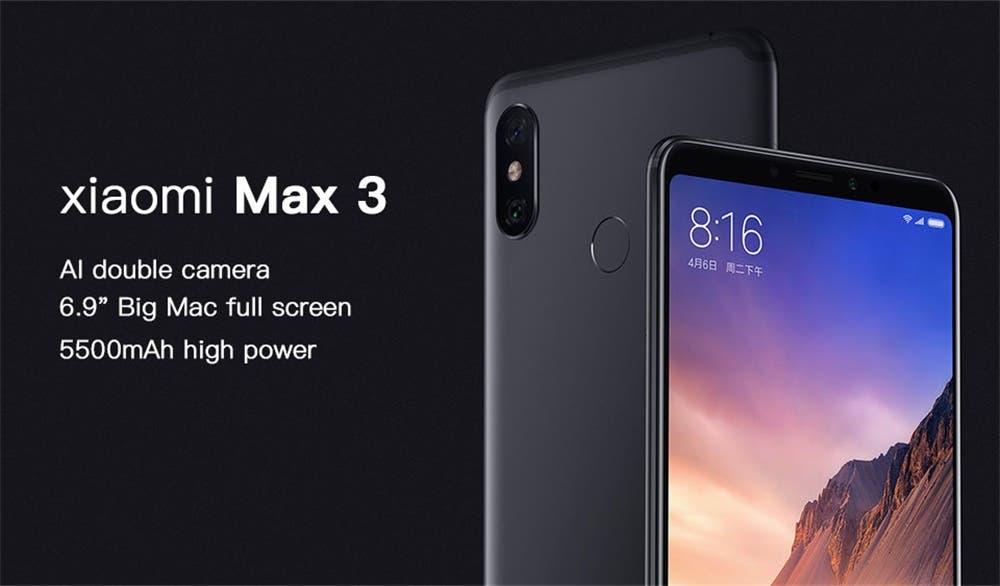 Diferencias entre los móviles Xiaomi Mi Mix 3 y Mi Max 3, más ofertas con cupones 3