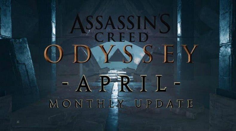 Detallado el contenido de la actualización de abril de Assassin's Creed Odyssey 1