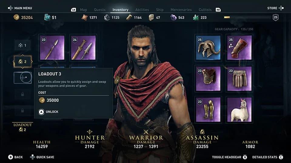 Detallado el contenido de la actualización de abril de Assassin's Creed Odyssey 4