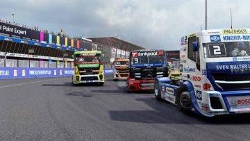 Toneladas de velocidad en un nuevo gameplay de FIA European Truck Racing Championship 1