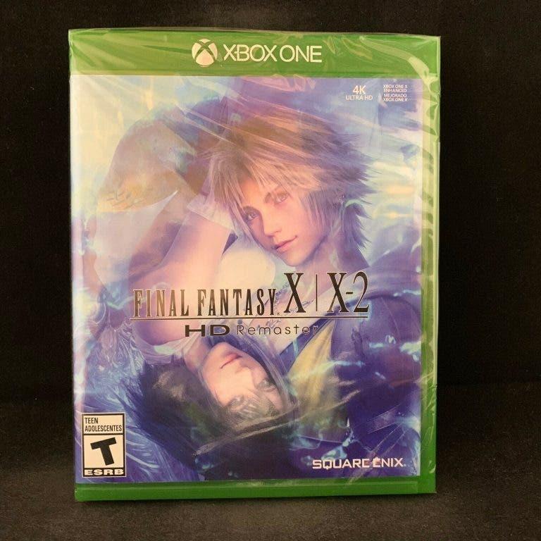 La carátula del remaster de Final Fantasy X/X-2 miente, el juego no está mejorado para Xbox One X 2