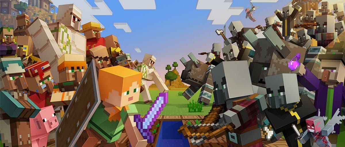 Minecraft Village & Pillage