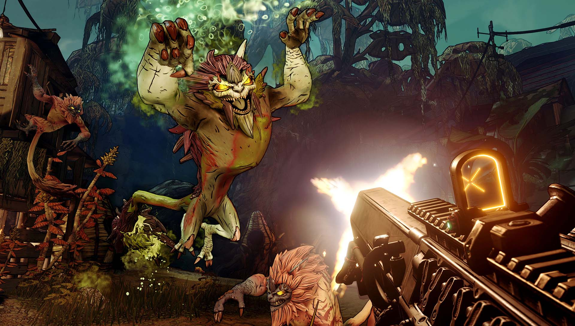 Nuevas informaciones de Borderlands 3, campaña offline, multijugador en pantalla partida y mucho más 2